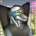 Zorg Badge for FurDU 2014