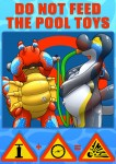 Do Not Feed the Pool Toys