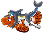 Clownfish Pool Toy Hugs