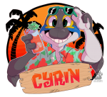 Cyrin WAFF 2017 Badge (Unused)